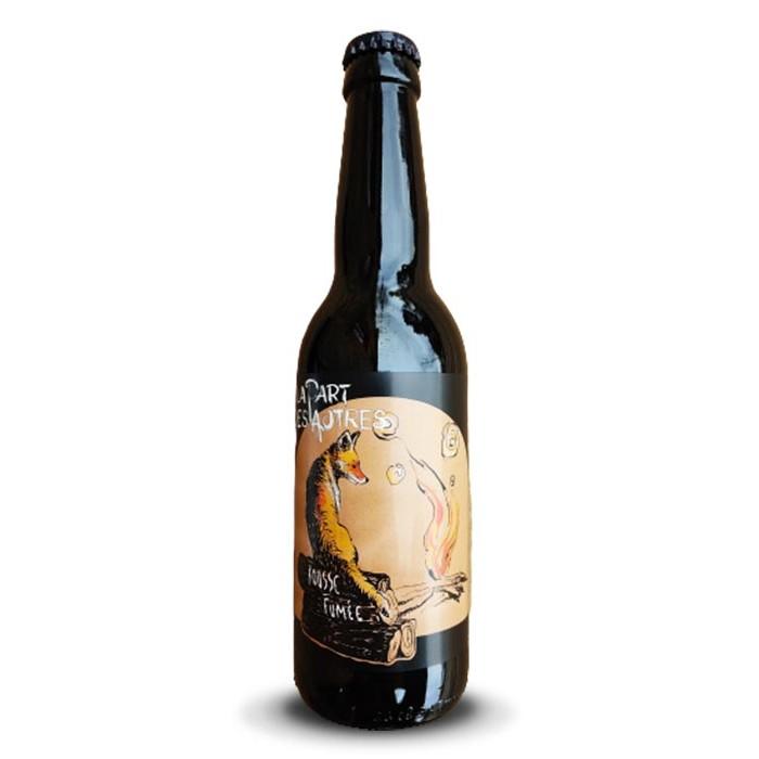 """Bière """"Rousse Fumée"""" La Part des Autres"""
