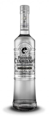 "Vodka ""Russian Standard Platinum"" Russie"