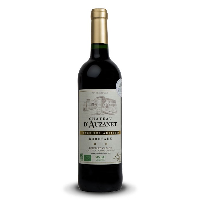 """Château d'Auzanet """"Cuvée des Abeilles"""" Bordeaux BIO"""