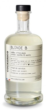 "Cocktail ""Blonde B"" Cockorico"