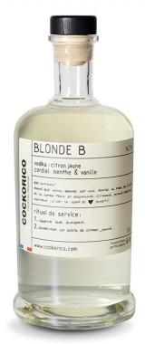 "Cocktail ""Blonde B"" Cockorico"