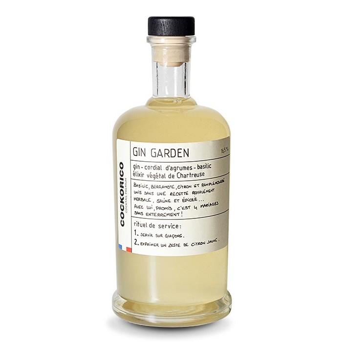 """Cocktail """"Gin Garden"""" Cockorico"""