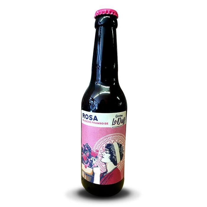 """Bière """"Rosa"""" Blanche Le Duff"""