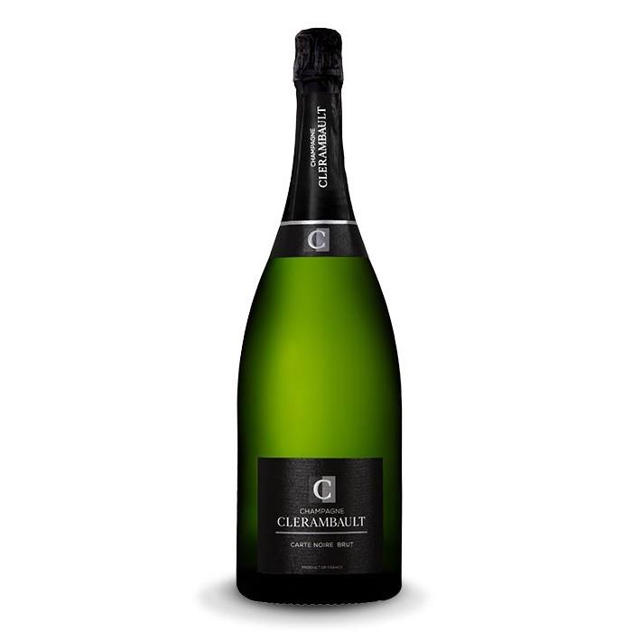 """Magnum Champagne """"Carte Noire"""" Maison Clérambault"""