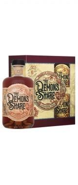 """Rhum """"The Demon's Share"""" 6 ans Panama en coffret 2 verres"""