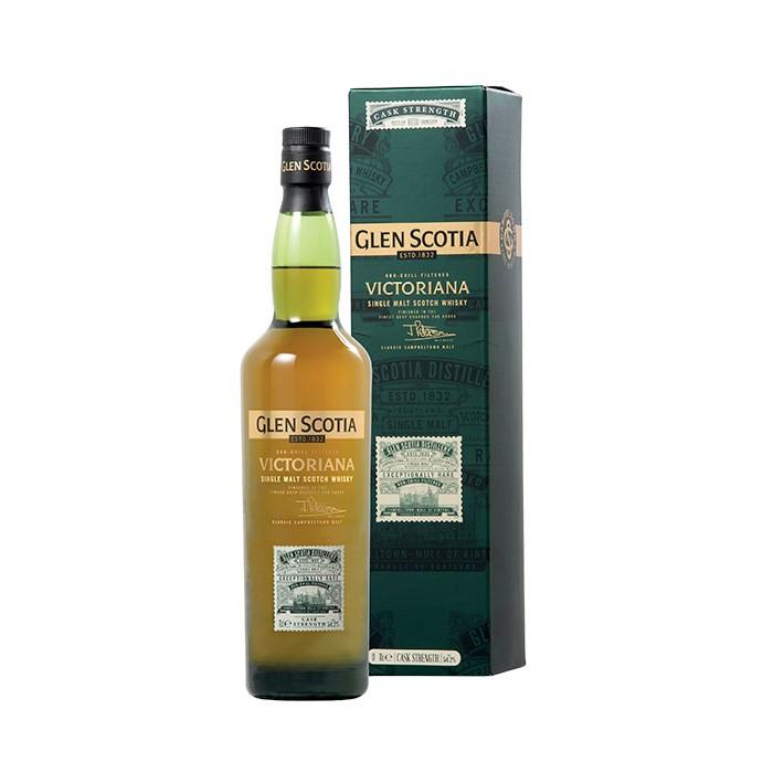 "Whisky Glen Scotia ""Victoriana"" Ecosse en étui"