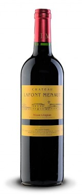 Château Lafont Menaut Pessac-Léognan 2014