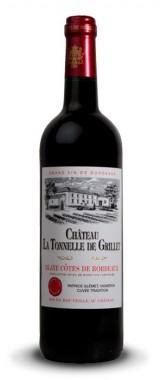 Château La Tonnelle du Grillet Blaye Côtes de Bordeaux 2015