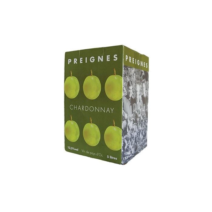 BIB 5L Pays d'Oc Chardonnay Domaine Robert Vic 2018