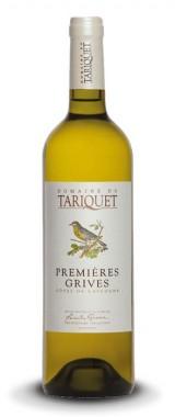 """Côtes-de-Gascogne """"Premières Grives"""" Domaine du Tariquet 2018"""
