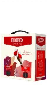 Duobox 3L Pays d'Oc rouge/rouge (Merlot/Syrah) Maison Lavau