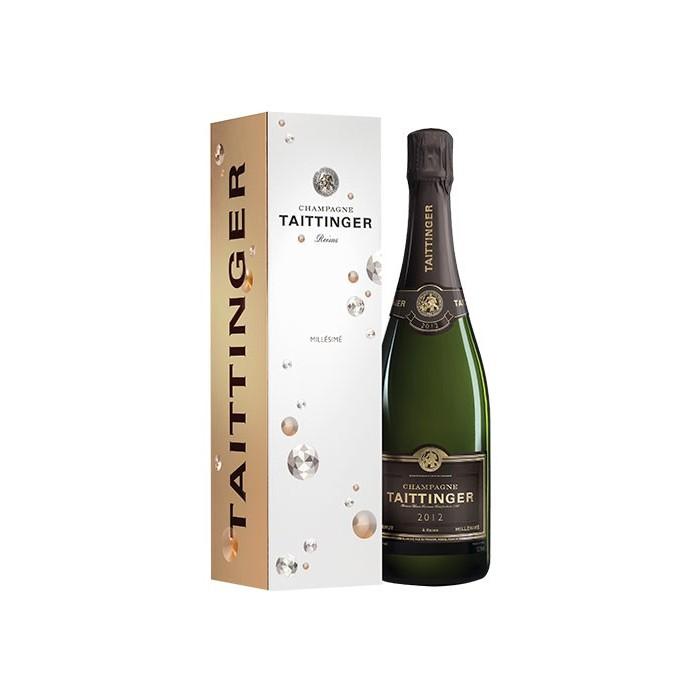 """Champagne Brut """"Millésimé"""" Maison Taittinger 2013 en coffret"""