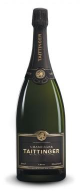 """Magnum Champagne Brut """"Millésimé"""" Maison Taittinger 2013 en coffret"""