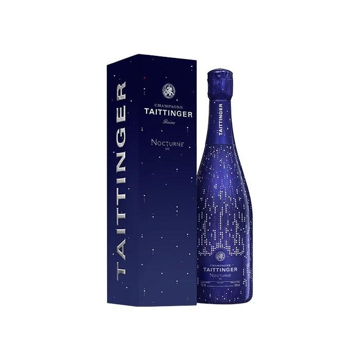 """Champagne """"Cuvée Nocturne"""" Maison Taittinger en coffret"""