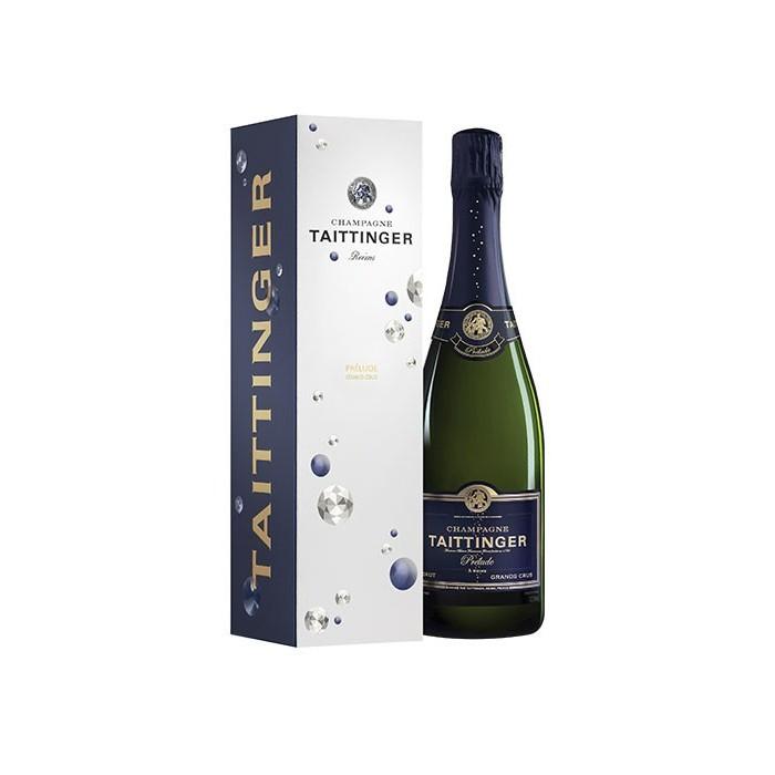 """Champagne """"Cuvée Prélude Grand Cru"""" Maison Taittinger en coffret"""