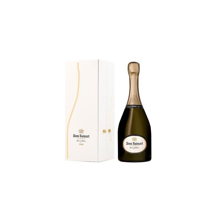 """Champagne Blanc de Blancs Millésimé """"Dom Ruinart"""" 2007 en coffret"""