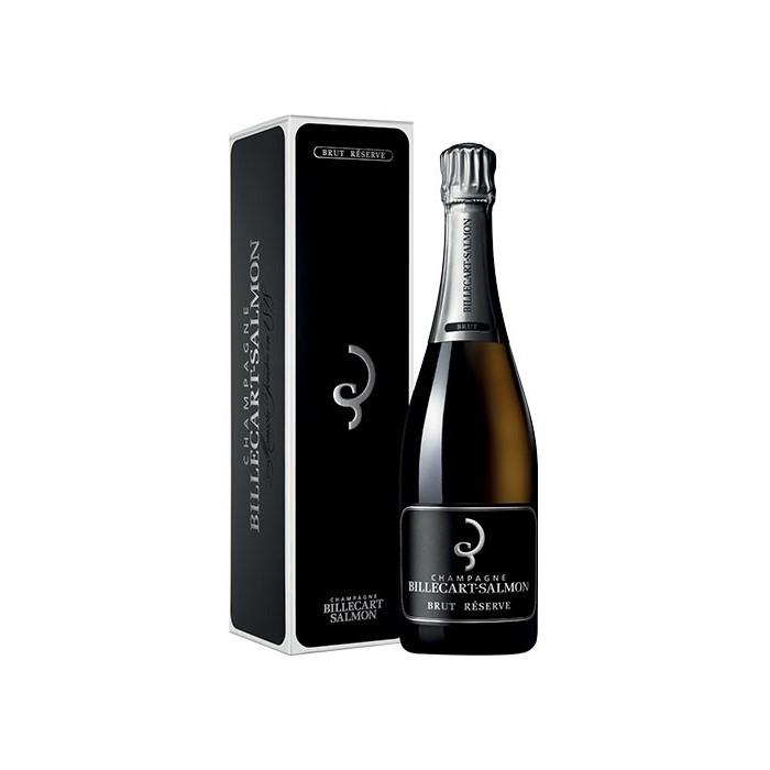 """Champagne """"Brut Réserve"""" Maison Billecart-Salmon en coffret"""