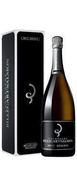 """Magnum Champagne """"Brut Réserve"""" Maison Billecart-Salmon en coffret"""