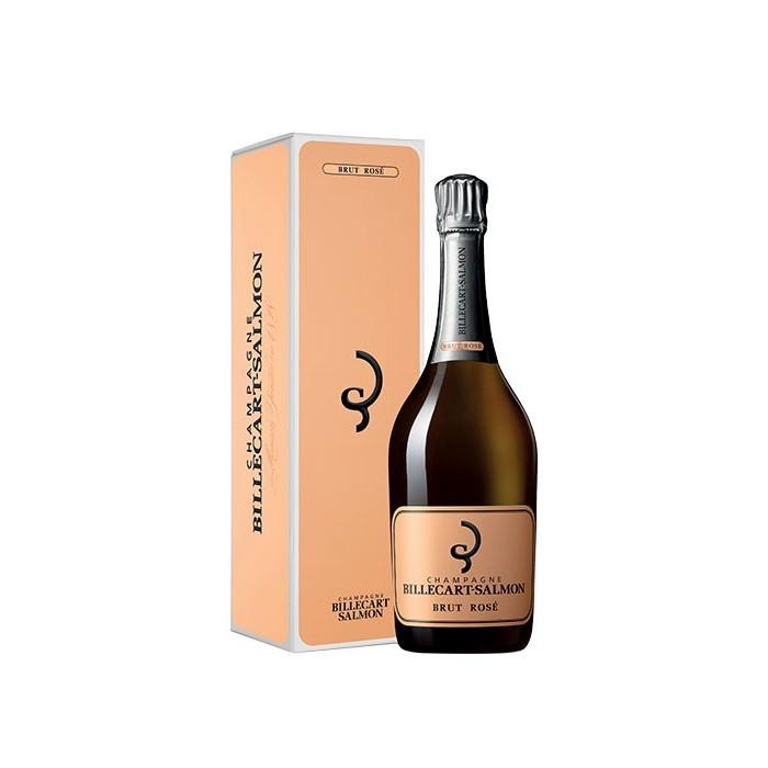 """Champagne """"Brut Rosé"""" Maison Billecart-Salmon en coffret"""