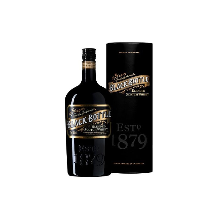 Whisky Black Bottle Ecosse en étui