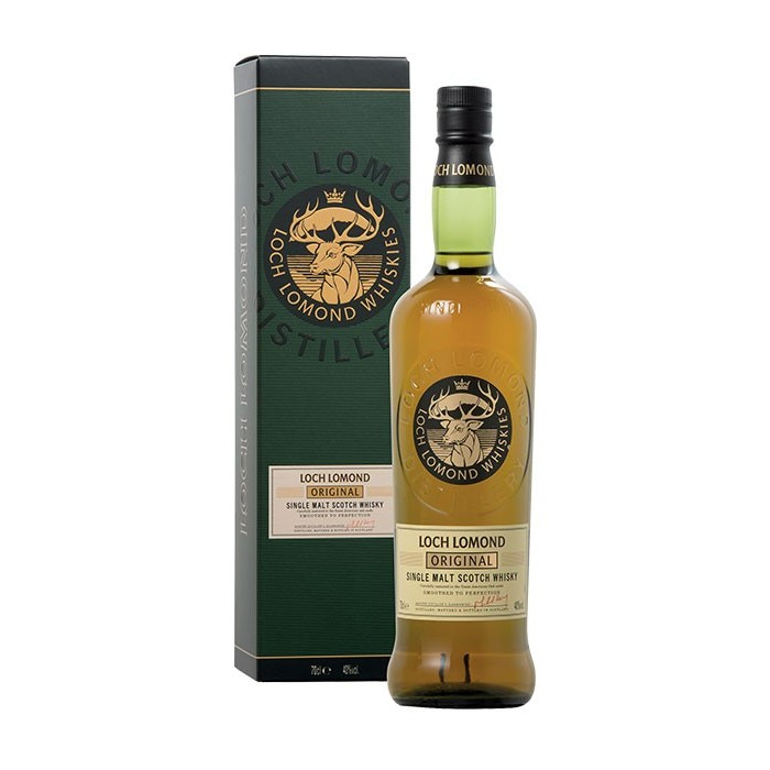 Whisky Original Single Malt Loch Lomond 40° Ecosse