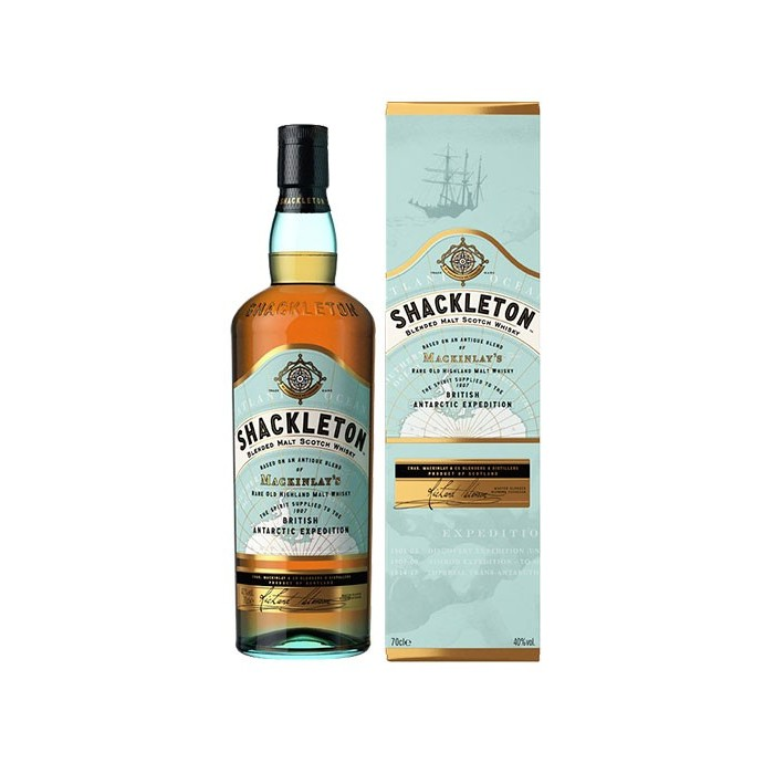 Whisky Shackleton blended 40° Ecosse en étui