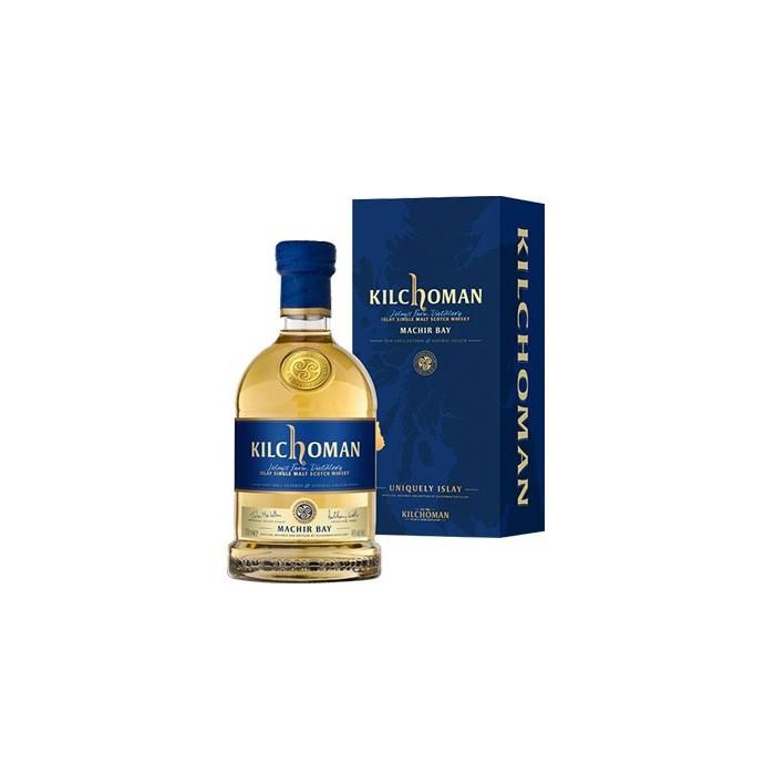 """Whisky Kilchoman """"Machir Bay"""" 46° Ecosse en étui"""