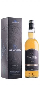 Whisky Armorik Classic Single Malt France en étui
