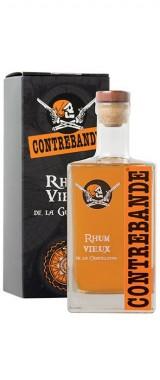 Rhum vieux Contrebande Guadeloupe en étui