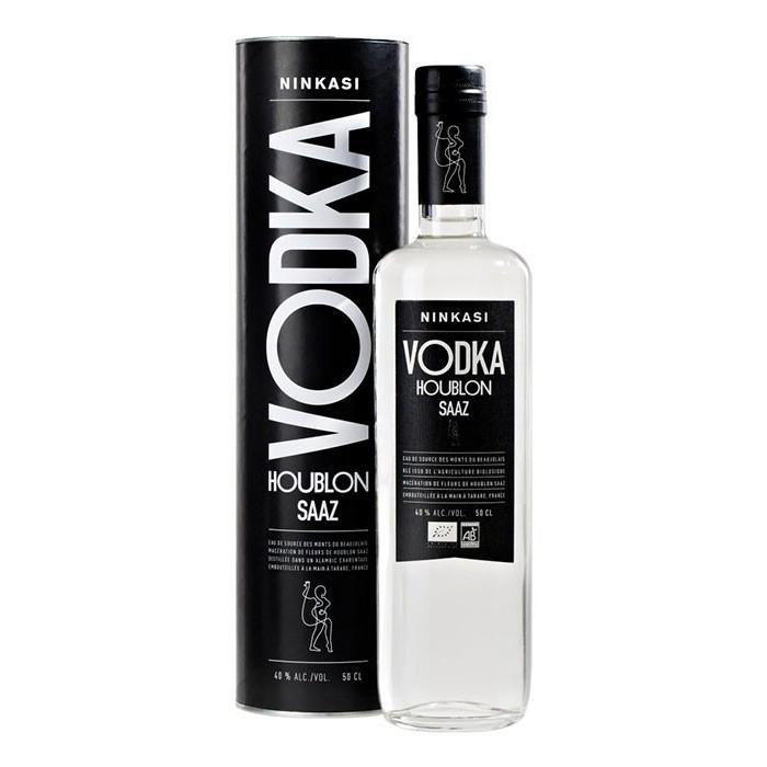 Vodka Houblon Saaz 40% Ninkasi BIO en étui