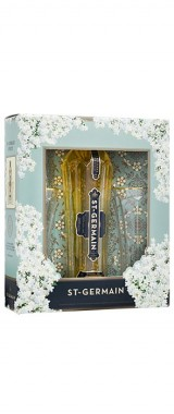 Liqueur St Germain 20° en coffret 2 verres