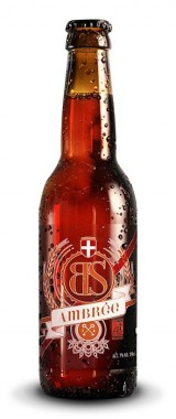 Bière BS Ambrée Brasseurs Savoyards BIO
