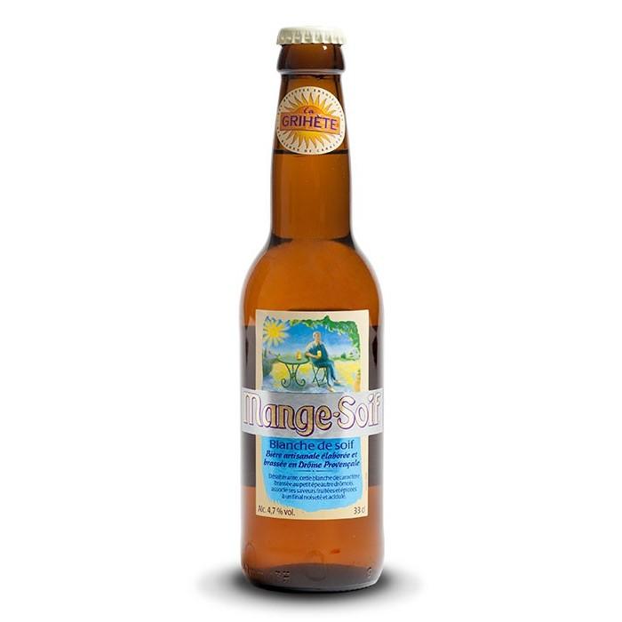 Bière Grihète Mange Soif Blanche Brasserie Artisanale du Sud