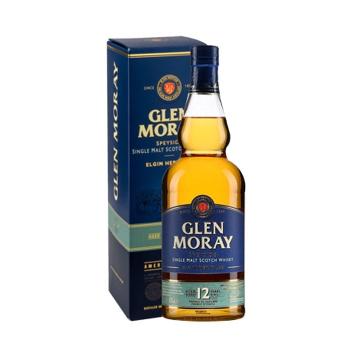 Whisky Glen Moray 12 ans Speyside Ecosse en étui