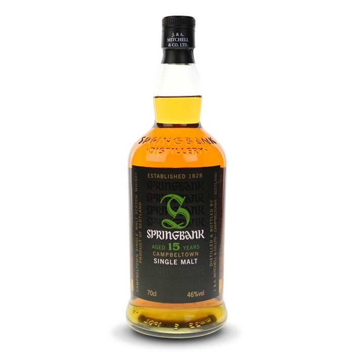Whisky Springbank 15 ans Campbeltown