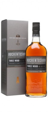 "Whisky Auchentoshan ""Three Wood"" 43° Ecosse en étui"