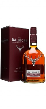 Whisky Dalmore 12 ans Single Malt 40° Ecosse en étui