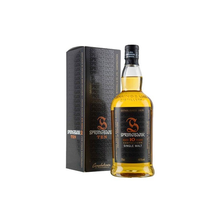 Whisky Springbank 10 ans Single Malt 46° Ecosse en étui