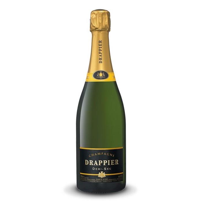 """Champagne Demi Sec """"Carte d'Or"""" Maison Drappier"""