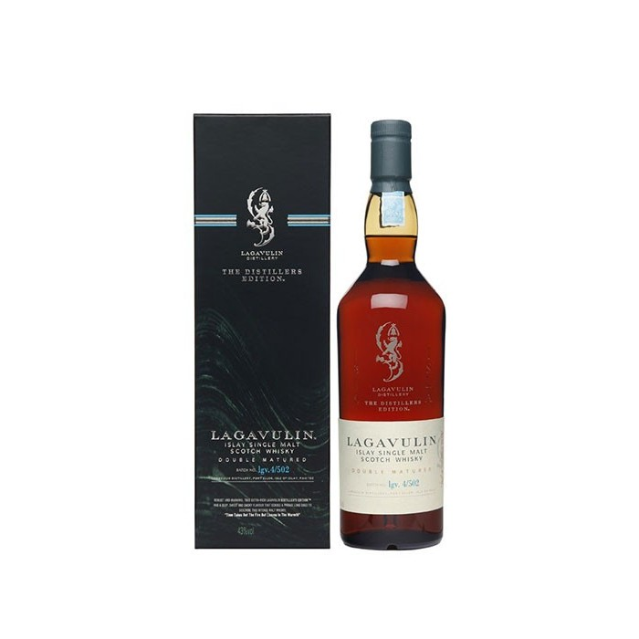 Whisky Distillers Edition Lagavulin Ecosse en etui