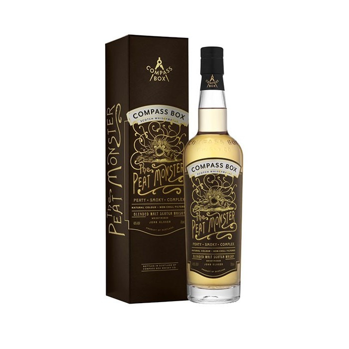 Whisky Blended Scotch The Peat Monster 46° Ecosse