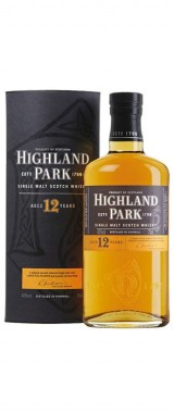 Whisky 12 ans d'âge 40° Highland Park en étui