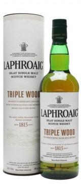 Whisky Triplewood 48° Distillerie Laphroaig en étui