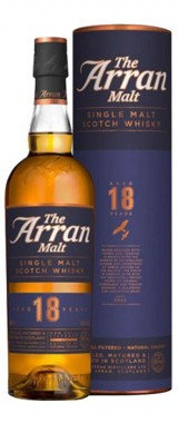 Whisky Arran 18 ans 46° Distillerie Isle Of Arran en étui